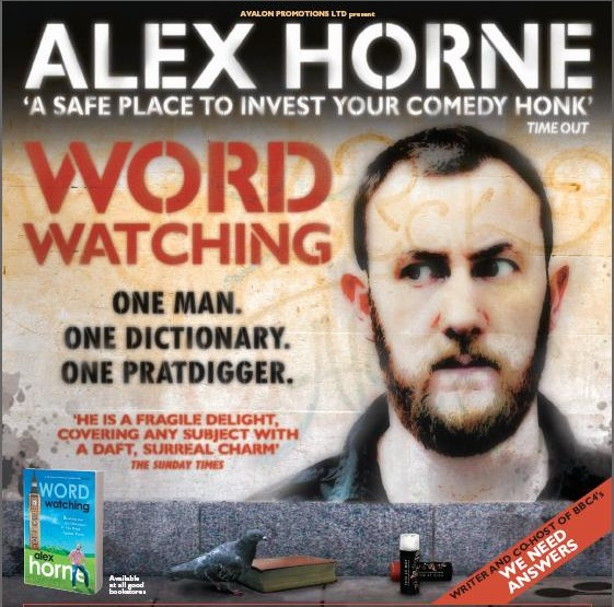 Alex Horne Wordwatching
