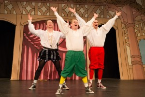 Reduced Shakespeare Company 2 - photocredit, Karl Andre