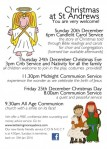 Christmas services A5 2015