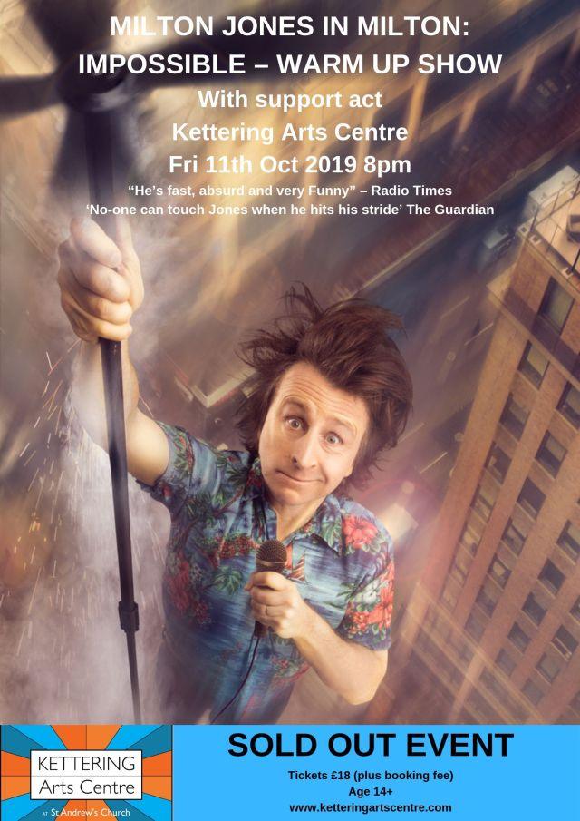 Milton Jones Poster new