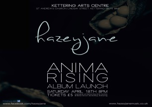 ANIMA RISING album launch A3 landscape