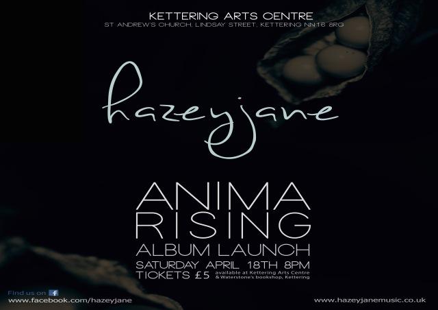 ANIMA RISING album launch A3 landscape